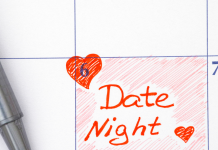 date night on calendar